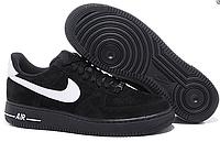 Мужские кроссовки  Nike Air Force 1 low (black/white) - 20Z
