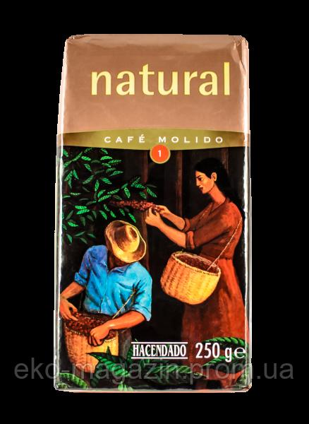 Кофе Hacendado Natural 250гр, молотый