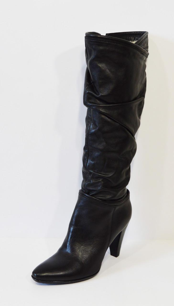 Черные женские сапоги Best But 1105