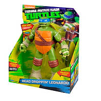 Фигурка Teenage Mutant Ninja Turtles ниндзя черепашки Head Droppin&180 Leonardo