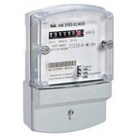 Счетчик электроэнергии НІК 2102-02 М2В однофазный однотарифный 5(60)А 220В, NiK