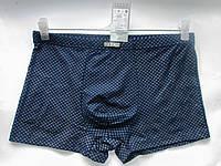 Трусы мужские оптом боксеры VERICOH батал, мелкий принт, скрытая резинка, разные цвета, фото 1