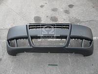 Бампер передний черный запчасти кузова на автомобиль ФИАТ ДОБЛО 2005-09 год. Производитель TEMPEST.