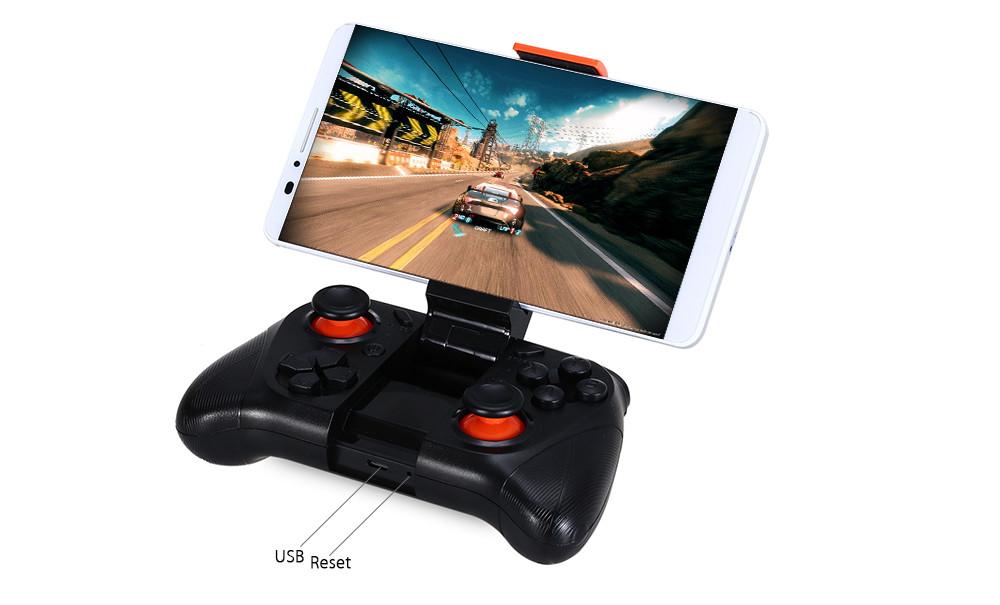Bluetooth джойстик геймпад MOCUTE-050 для Android, PC с креплением