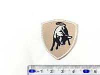 Нашивка Lamborghini эмблема ( ламборджини) small