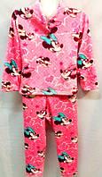 Теплая детская пижама Микки