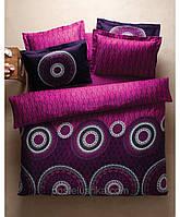 Комплект постельного белья Karaca Home Hermes фуксия