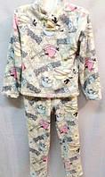 Велюровая детская пижама для дома