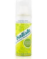 """Batiste Dry Shampoo Tropical-Coconut & Exotic - Сухой шампунь """"Тропическая экзотика"""", 50 мл"""