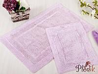 Набор ковриков для ванной хлопок 60х90, 40х60 см. IRYA SUPERIOR LILA