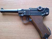 Пистолет стартовый ME Luger P-08 9мм