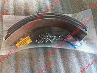Ремкомплект задних тормозных колодок Газ, УАЗ (накладки+заклепки)