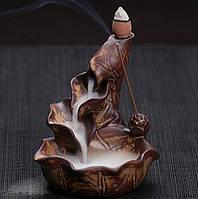 Курильница Тихий ручей (коричневая)