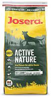 Josera Active Nature 15кг Сухой корм для взрослых активных собак с повышенным содержанием мяса