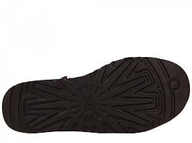 Угги UGG Classic Short коричневые на овчине топ реплика, фото 2