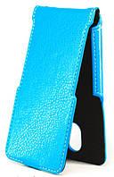 Чехол Status Flip для Oukitel U6 Blue