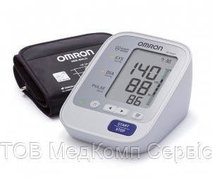Вимірювач артеріального тиску і частоти пульсу автоматичний OMRON M3 Expert