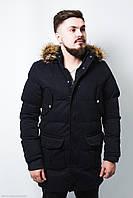 Куртка мужская синяя зимняя