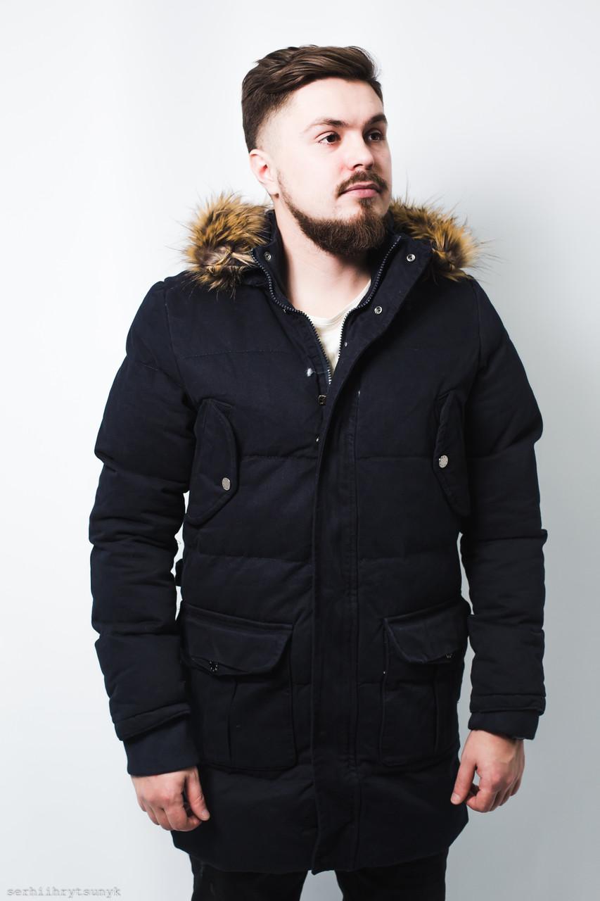 f225db2be15 Куртка мужская синяя зимняя - MILLIONAIRE оптом мужская одежда в Черновцах