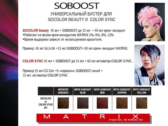 Пример смешивания Soboost