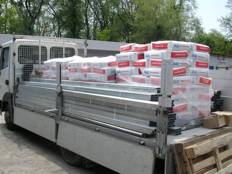Перевезти строительные материалы в Одессе и области