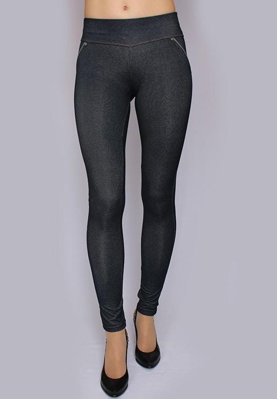 Лосины женские модель №17 джинс стрейч, размеры: 40-50