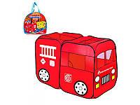 Детская палатка M 1401, пожарная машина
