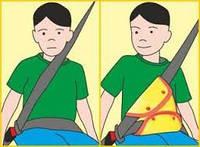 Адаптер ремня безопасности для детей ниже 150см