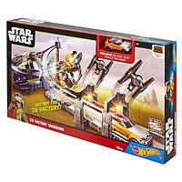 Трек Приключения в далекой галактике из серии Star Wars Hot Wheels CHB13