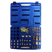 Набор адаптеров для тестирования системы кондиционирования 58 пр. FORCE 958G1, фото 1