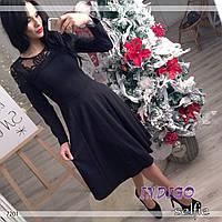 """Платье женское с вышивкой """"Куршавель"""""""