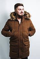 Куртка мужская зимняя горчичная