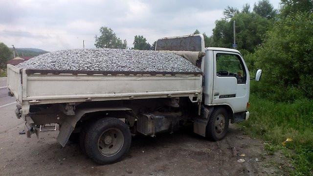 Перевозка сыпучих материалов во Львове и области
