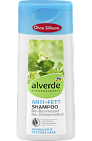 Alverde шампунь для жирных волос Anti-Fett-Shampoo 200мл