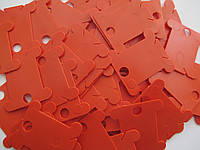 Spark Beads Бобины для мулине пластиковые оранжевые 20шт