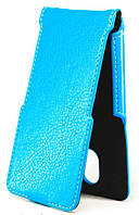 Чехол Status Flip для Gionee Marathon M5 Plus Blue