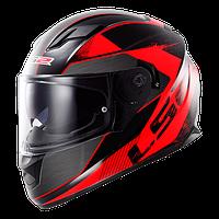 Шлем интеграл LS2 FF320 STREAM STINGER BLACK-RED