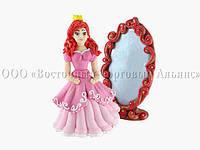 Фигурки из мастики - Набор «Принцесса с зеркалом» - Н100 мм