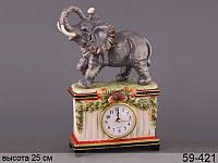 """Часы """"Слон""""  кварцевые без элементов питания  25,7  см ed59-421"""