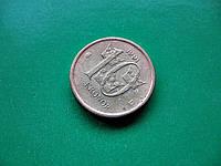 10 крон 1991 год ШЕЦИЯ - обиходная монета