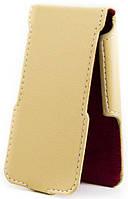Чехол Status Flip для Gionee Pioneer P6 Beige