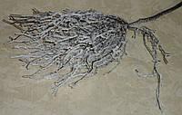 Ветка-дерево коричневое в снегу 75 см