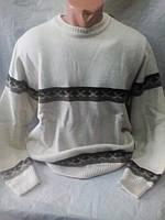 Мужской зимний качественный джемпер 50-52 рр