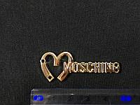 Пришивная металлическая эмблема Moschino