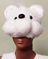 Карнавально-новогодние костюмы напрокат Белый Мишка 98-110см Киев Подол