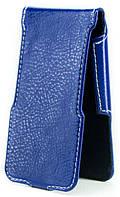 Чехол Status Flip для Gionee Ctrl V4s Dark Blue