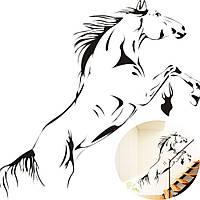 Наклейка виниловая Лошадь 3D декор