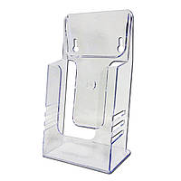 Акриловая буклетница евро-флаер формат 1/3 А-4
