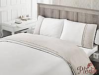 Комплект постельного белья хлопок/лен IRYA HERA молочный