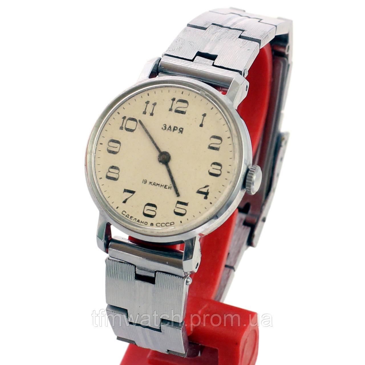 Советские часы заря продать работы самосвала за час стоимость один